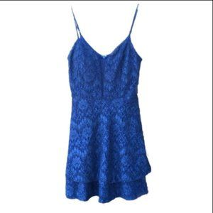 ♡NWT Windsor Lace Homecoming Dress | Blue, 11